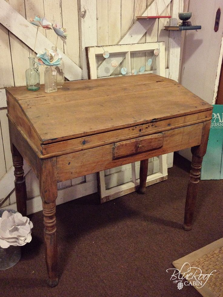 blue roof cabin: Antique Writing Desk (that I'm in love with) - Best 25+ Antique Writing Desk Ideas On Pinterest Writing Bureau