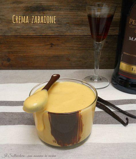 Crema zabaionle Iginio Massari
