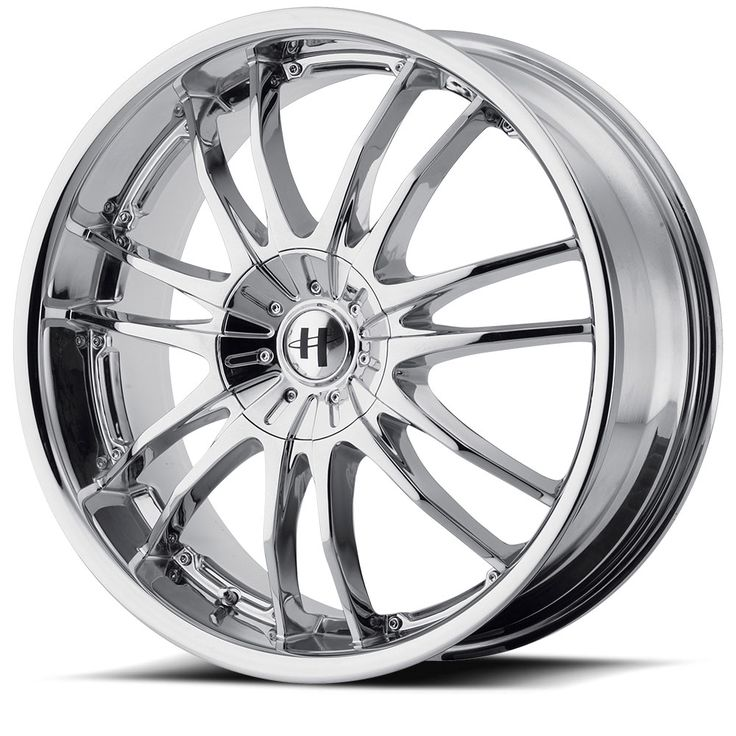Helo Wheels HE845 Chrome Plated