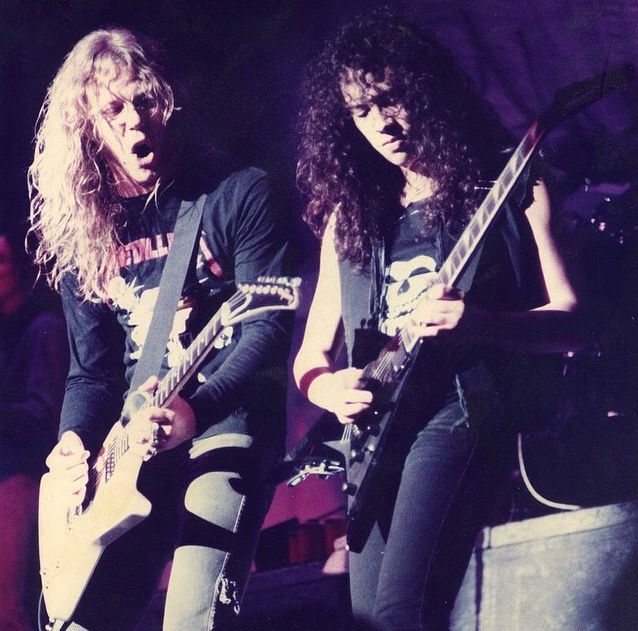 A blog dedicated to my two favourite guitarists in the world, James Hetfield and Kirk Hammett of...