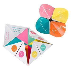 Unusual Wedding Favours - Fortune Tellers - Wedding Table Game: Amazon.co.uk: Kitchen & Home