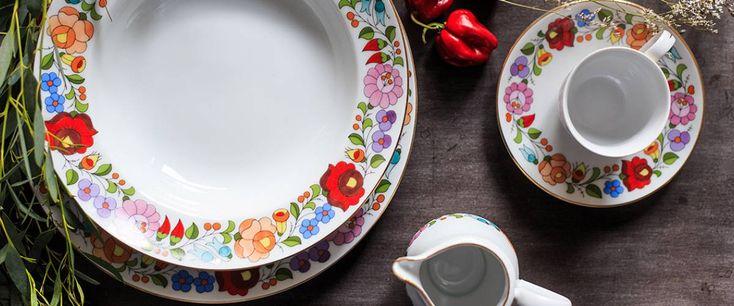 Színes kalocsai » Kalocsai Porcelán Manufaktúra
