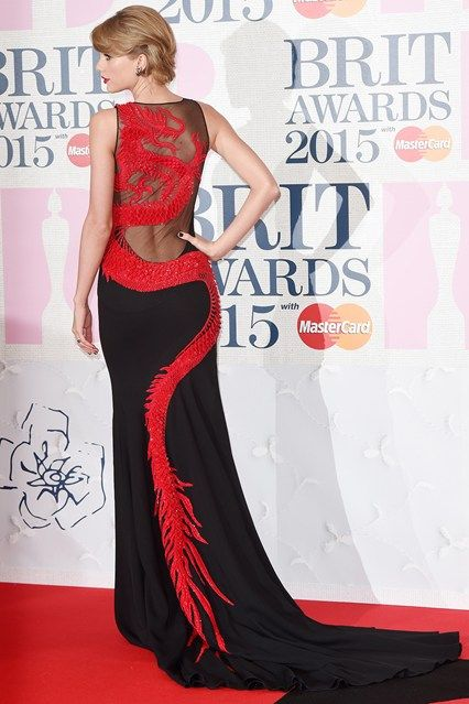Taylor Swift-BRIT Awards 2015 dresses