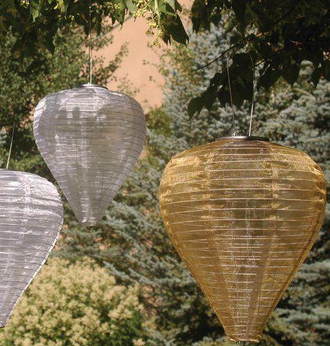 Luces solares para decoración exterior