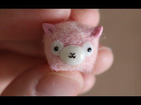 Alpacasso Furry Tsum Tsum Polymer Clay Tutorial