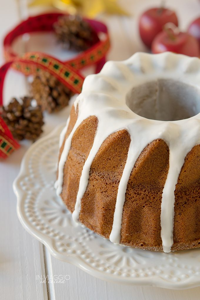 Gingerbread bundt cake senza glutine