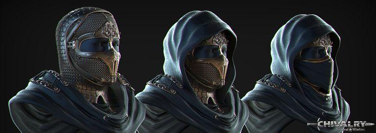 Archer Head Armor - Chivalry: Medieval Warfare Contest on Behance