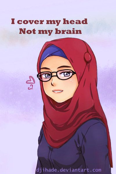 Hijabi by Djihade.deviantart.com on @deviantART