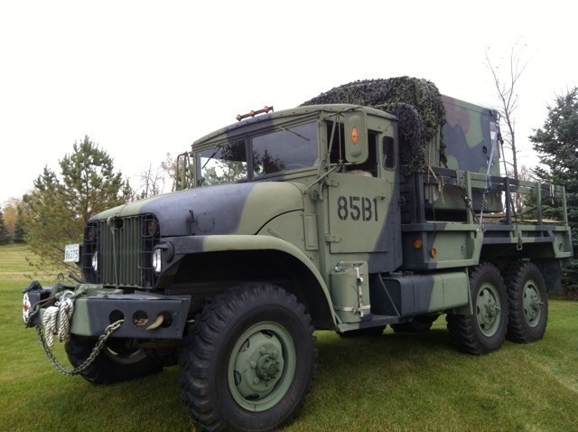Half Truck Half Tractor Trailer Pick Up : Kijiji military army truck gmc m ton