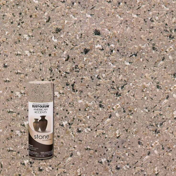 Rust Oleum American Accents 12 Oz Stone Pebble Textured Spray Paint 6