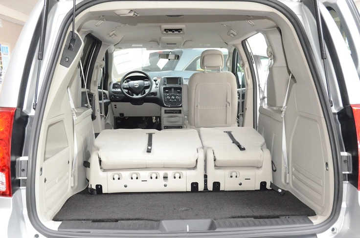 the trunk with the seats down in the 2012 dodge grand. Black Bedroom Furniture Sets. Home Design Ideas