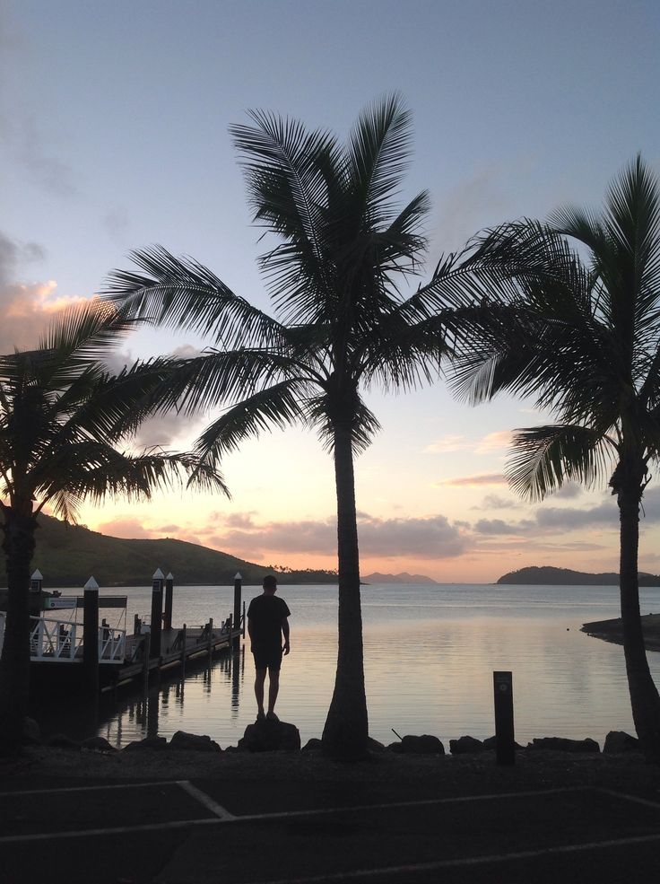 Sunset on Hamilton Island ....