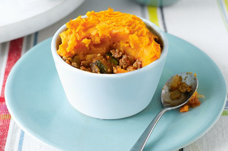 Little Pies With Sweet Potato Topping Recipe - Taste.com.au