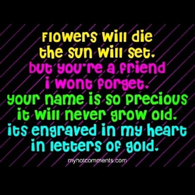 Short bestfriend poems