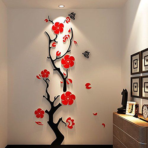 Best Wall Images On Pinterest Wall Stickers Decals And Acrylics - Wall decals in pakistanblack flowers removable wall stickers wall decals mural home art