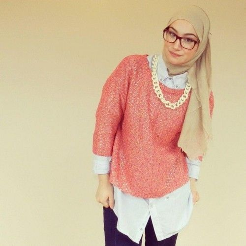 awesome Beige Hijab Trends and Styles