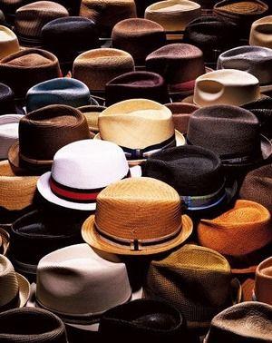 帽子の種類|おじゃかんばん『メンズ帽子コレクション写真日記』