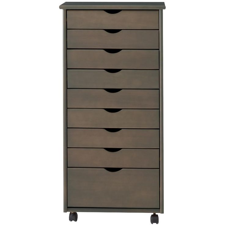 Home Decorators Collection Becker 6 Drawer Metal Cart In