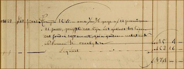 Genealogie Bos: Matroos Jan Leendertsz Eland (1698-1734) uit Oud-Beijerland