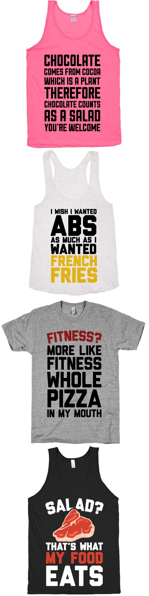 Everyone loves a good cheat day. What's the point of working out if you can't reap the rewards in the form of pizza and french fries? Check out our whole collection of cheat day tees and tanks at Activate Apparel.