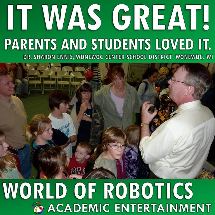 Trending Topics in Education - STEM - Science and Technology.  Enhance your curriculum with World of Robotics! Schedule School Assemblies for 2015/2016 now!