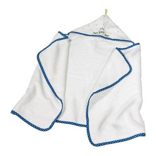 TORVA Babyhåndkle med hette IKEA