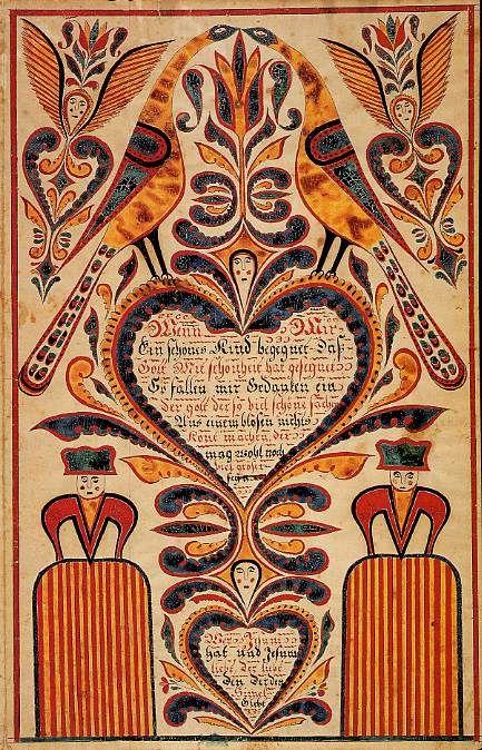 Fraktur (Pennsylvania German folk art)