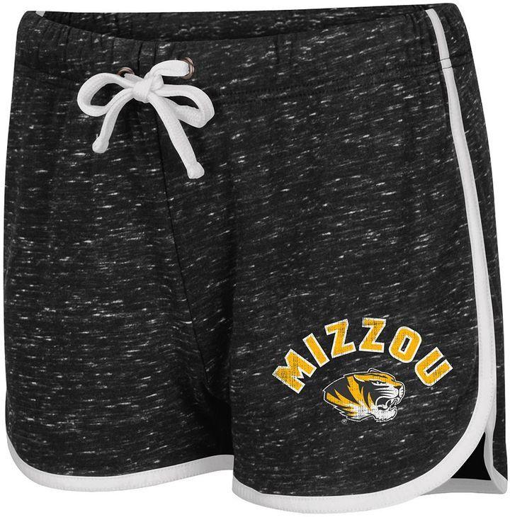 Juniors' Campus Heritage Missouri Tigers Gym Shorts