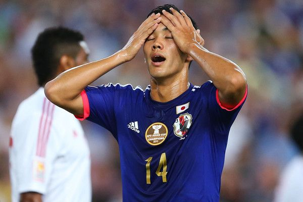 Yoshinori Muto Photos: Japan v UAE