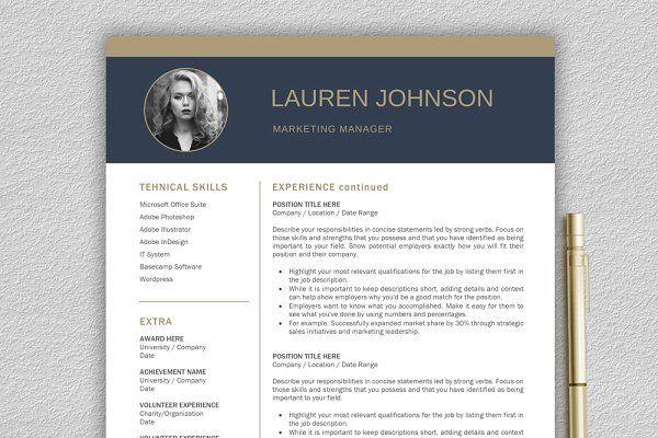 Resume Template Cv Cover Letter Resume Template Unique Resume Template Resume Templates