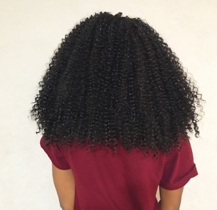 My crochet braids with Freetress Water Wave Hair. Deets on installation here:  http://allthingsammamama.com/2015/12/crochet-braids-with-freetress-water-wave-hair/
