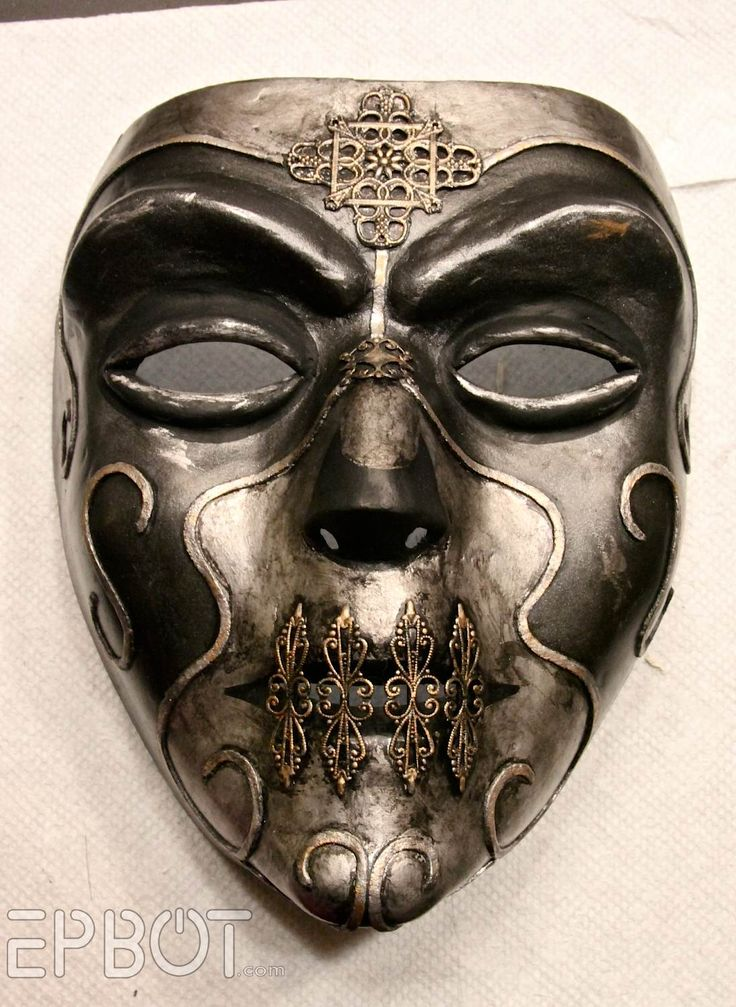 DIY Halloween Mask - EPBOT: Curse of the Death Eater?