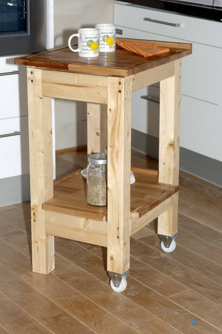 En este proyecto de bricolaje con madera vamos a crear un mueble con movilidad, partiendo de un par de encimeras de corte, vamos a ser capaces de crear un proyecto que nos va a hacer las veces de camarera.