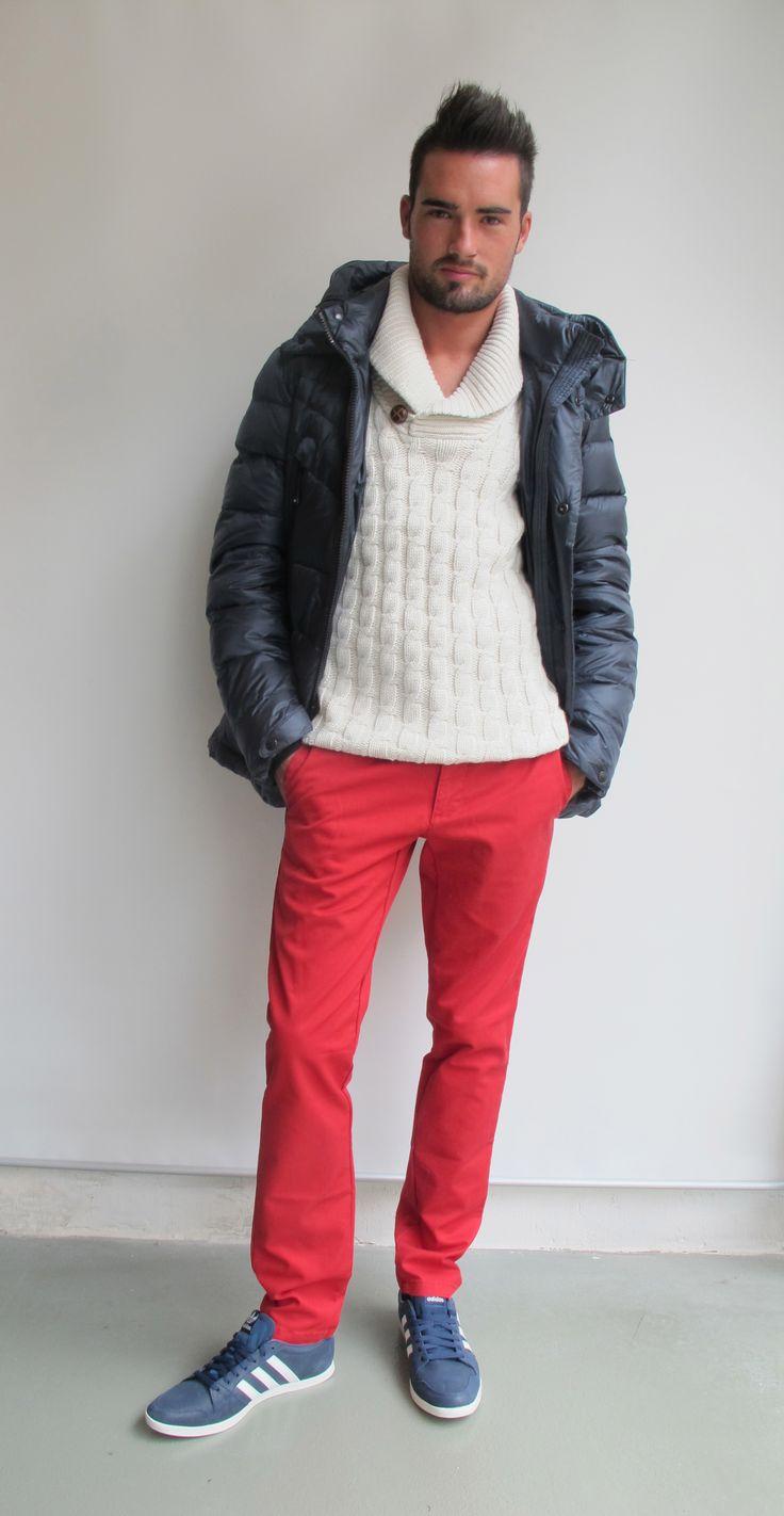 #wilcolook #moda #hombre http://www.miinto.es/shops/b-1040-wilco plumifero #reset pantalon #carhartt zapatillas #adidas
