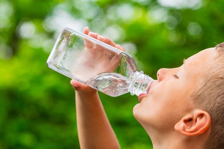Mehr trinken mit einer Wasser-App - drinking more using a water app
