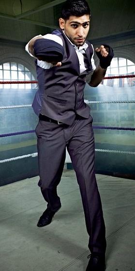 One of my favorite boxers Amir Khan