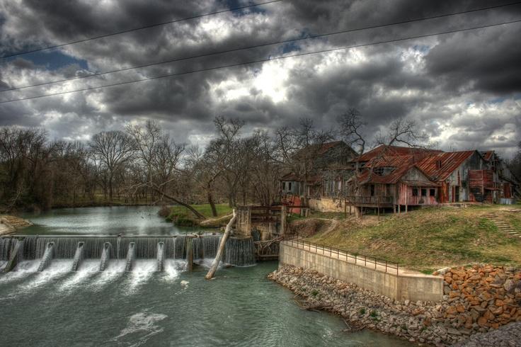 Gonna rain soon... Luling, Texas.