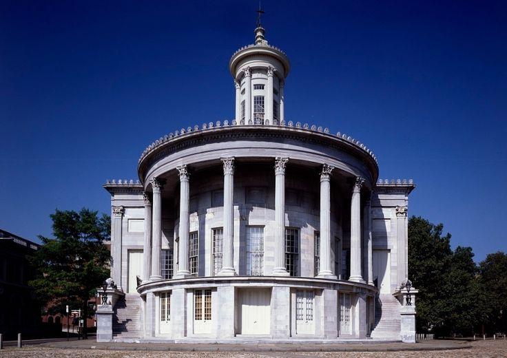#Philadelphia Merchant's Exchange, la primera bolsa de valores del país en 1834. http://www.nuevayork.travel/ciudades-para-visitar/filadelfia/ #viajar #EstadosUnidos #USA
