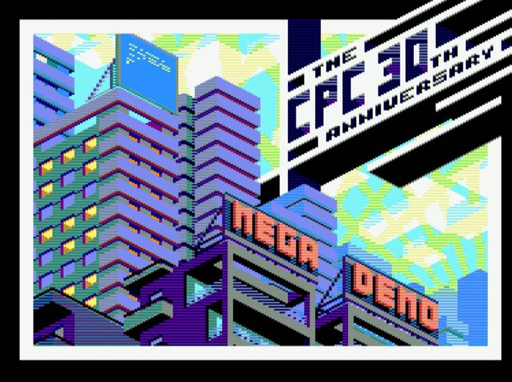 The Amstrad CPC 30 Year Megademo!