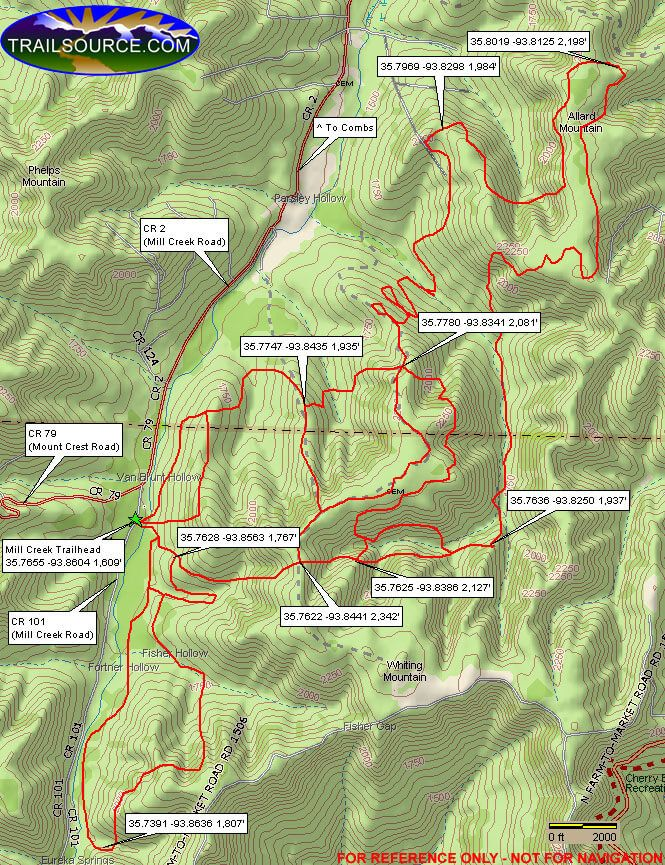 Best Mill Creek Trail System ATV Trails Review   Weekend ...