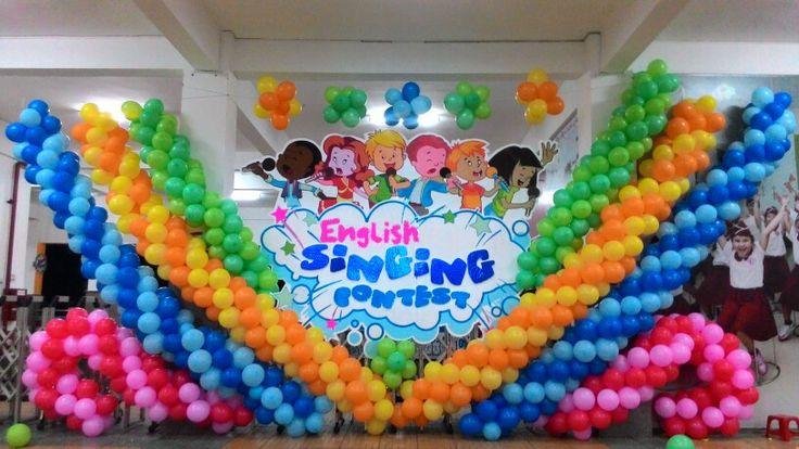 Balloon decoration #AIS」のおすすめ画像 9 件 | Pinterest