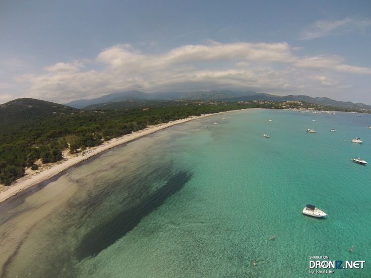 Aerial drone Photo from France by Kareldef : D1468, 20144 Zonza, France