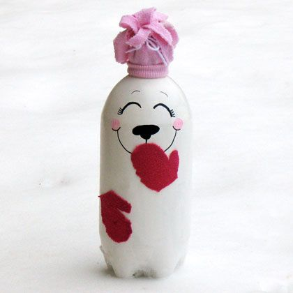 Soda Bottle Polar Bear | Crafts | Spoonful