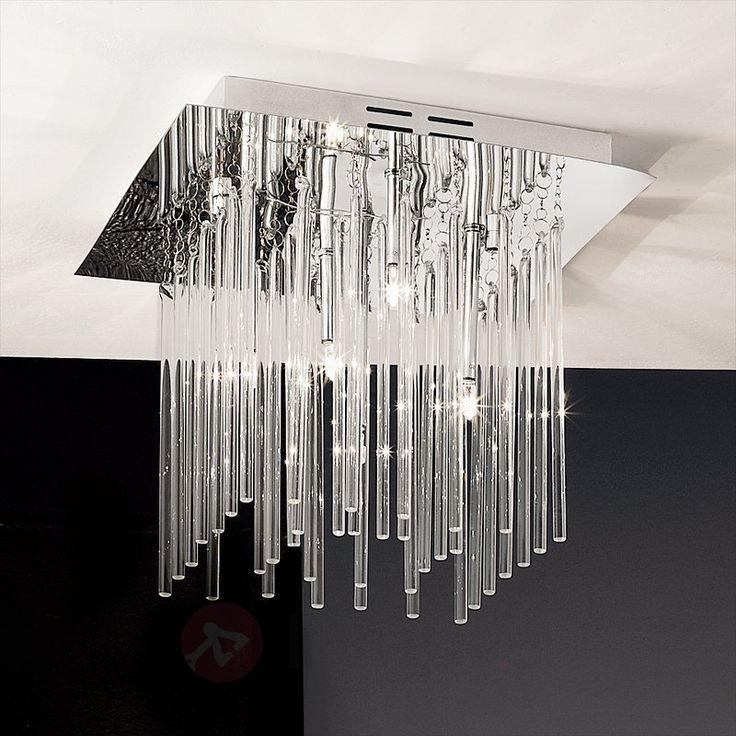 Lampa sufitowa FUTURE ze szklanymi prętami 7253015