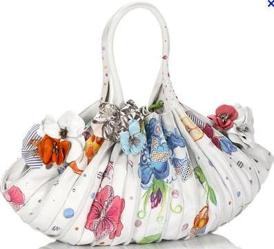 Abanico bag, floral, 2012. by Lupo Barcelona.