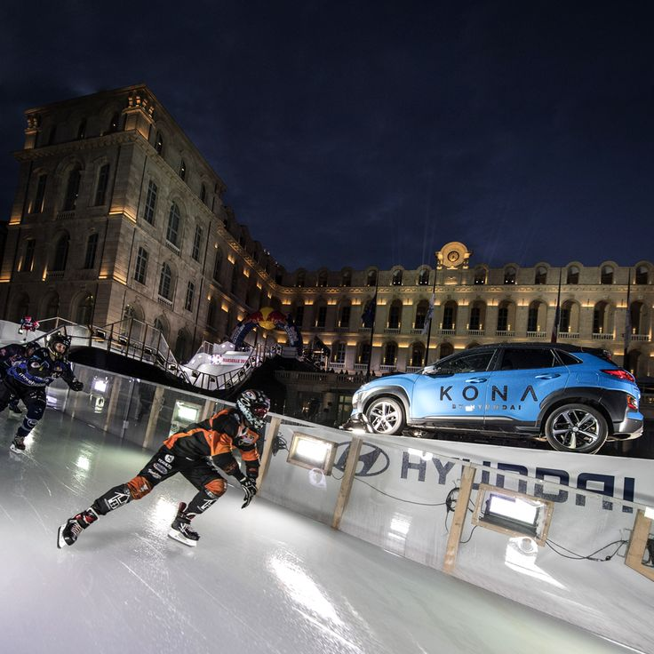 Sponsored by Hyundai, Red Bull Crashed Ice Marseille