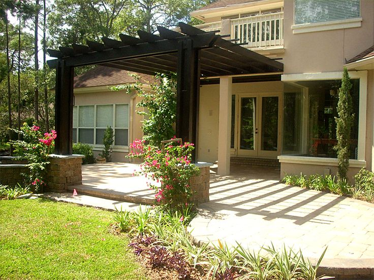 33 best backyard area redo images on pinterest | patio ideas ... - Patio Pergola Ideas