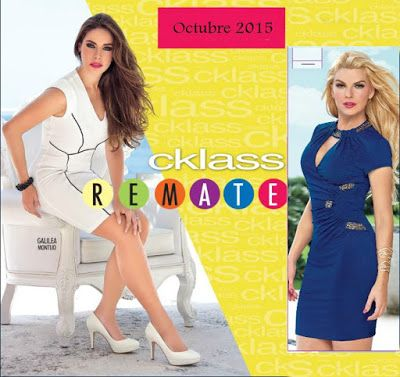 Cklass, Catalogo Remates en Ropa y Zapatos Octubre 2015. Las ofertas recien acaban de salir y estaran disponibles hasta agotar existencias