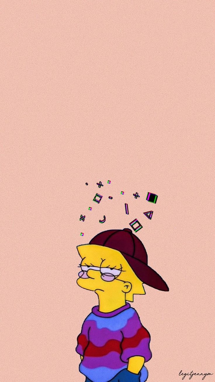 Lisa Simpsons HD Phone Wallpaper