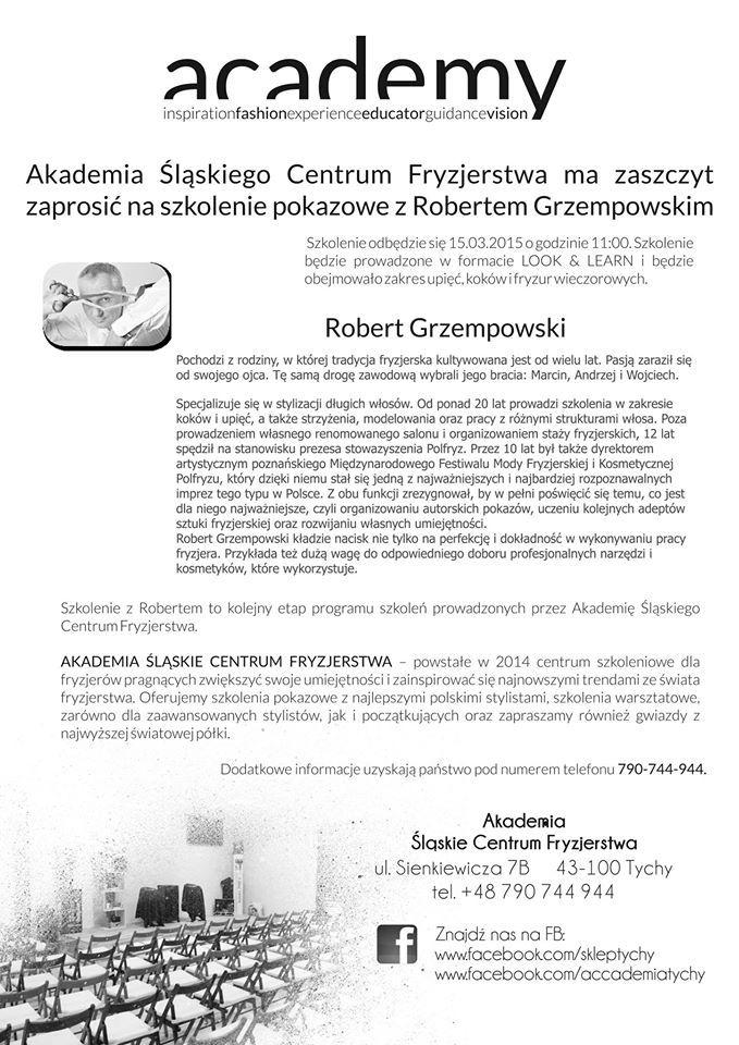 Szkolenie z Robertem Grzempowskim